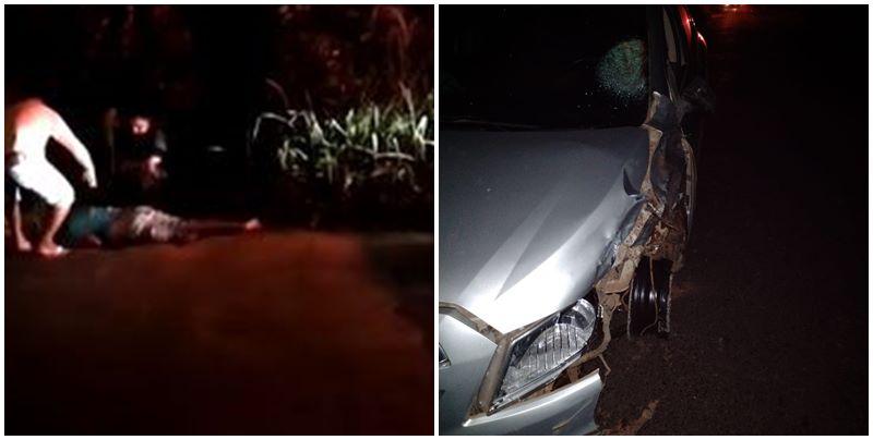 Motociclista tem perna decepada em acidente em Teresina; Veja o vídeo