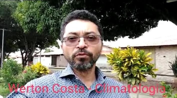 Climatologista Werton Costa orienta sobre os cuidados no período chuvoso