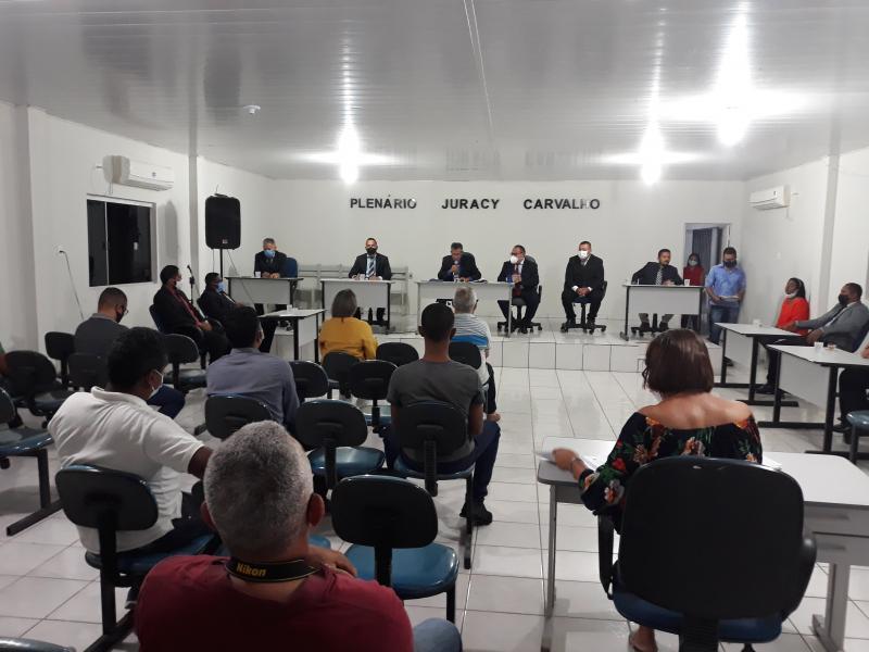Câmara de Vereadores de Gilbués dá início à 19ª Legislatura
