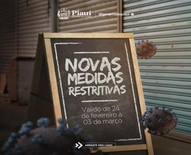 Após decreto, confira o que abre e fecha no final de semana no Piauí