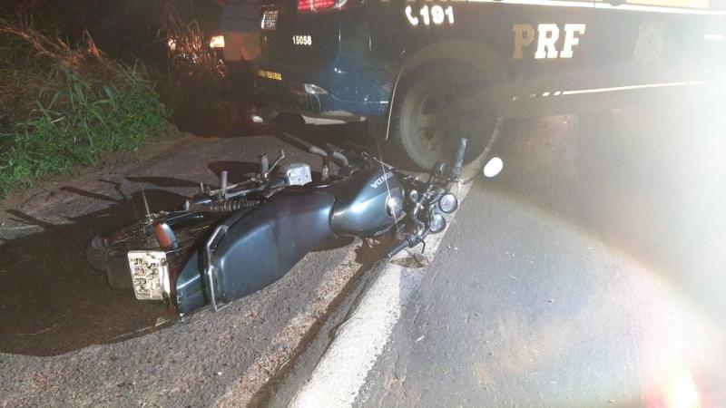 Colisão entre motocicleta e caminhão deixa homem morto na BR-316, no Maranhão