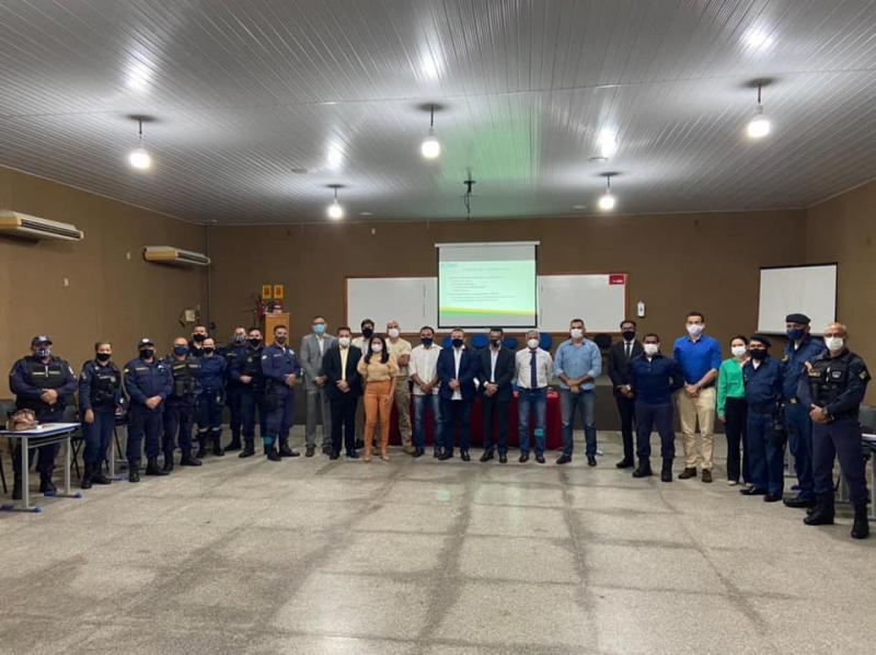 GCM de Demerval Lobão participa da reunião da SSP na ACADEPOL