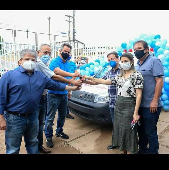União Recebe nova ambulância para a Saúde Municipal