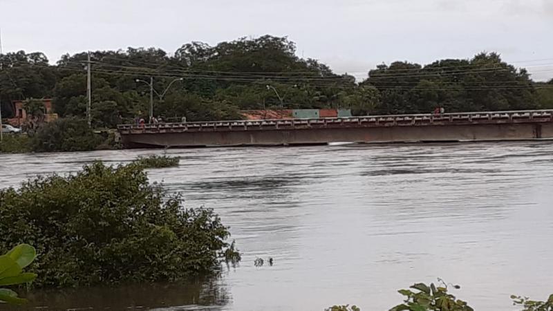 Rios Longá e Marataoan entram em estado de atenção após fortes chuvas no Piauí