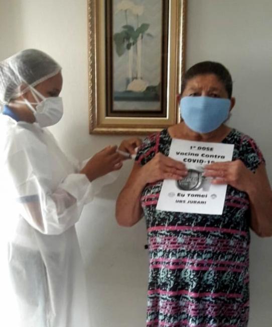 Iniciada a vacinação de idosos de 85 a 90 anos em Oeiras