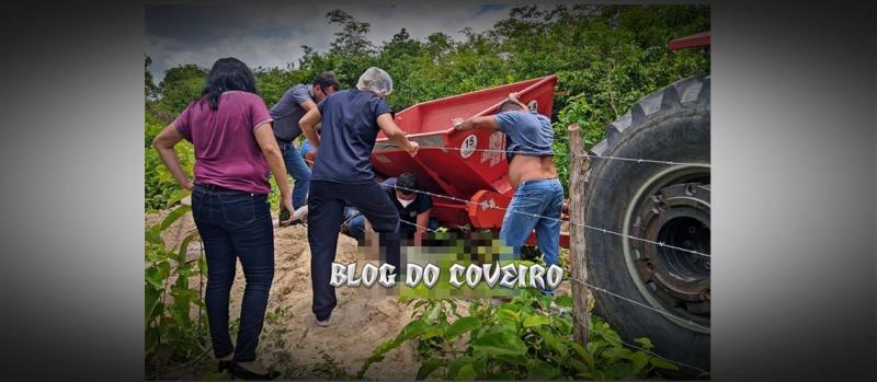 Operador de máquinas morre esmagado por retroescavadeira no Piauí