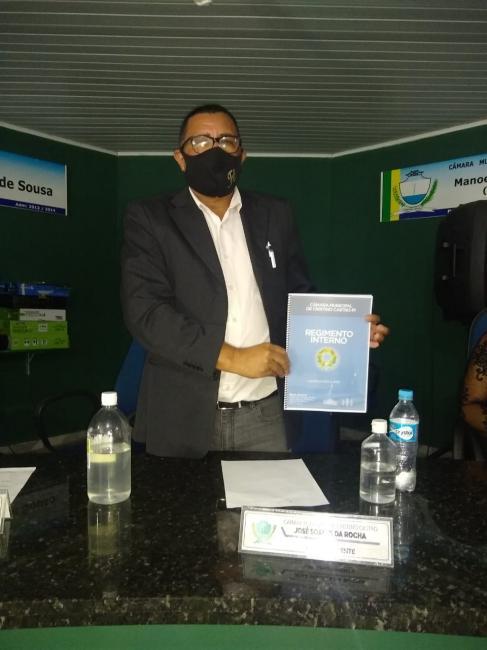 Vereador José Soares apresentou dois projetos de Lei na Câmara Municipal