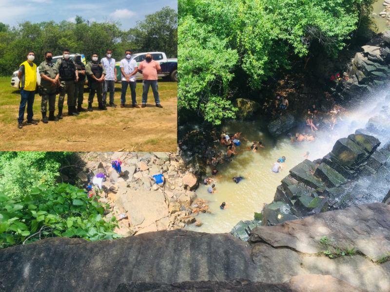 Policias e vigilância sanitária de Sigefredo Pacheco e Jatobá do Piauí fazem ação em conjunto