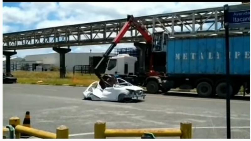 Ford sai do Brasil e destrói 900 unidades de KA e Ecosport no Nordeste; veja vídeo