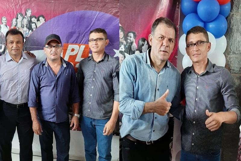 Vereador Douglas Pereira participa de evento ao lado do Dep. Fabio Abreu