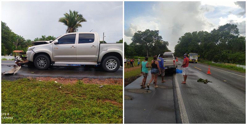 Grave acidente deixa uma pessoa morta na BR 343 no Piauí