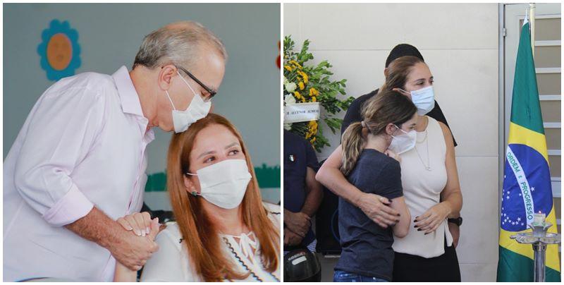 Lucy Soares afirma que Firmino Filho estava triste por falta de leitos de UTI em Teresina