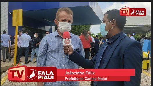 Prefeito de Campo Maior,  Joãozinho Félix fala sobre ações para os próximos anos de mandato