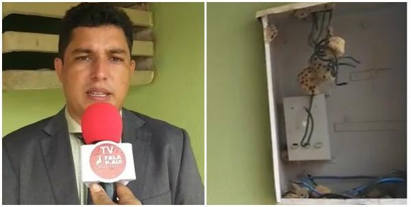Prefeito eleito de Curralinhos, recebe prefeitura com luz cortada e dívida de 9 Milhões