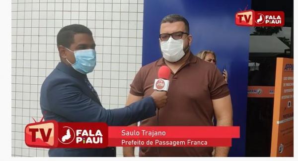 Prefeito de Passagem Franca, Saulo Trajano fala sobre ações para os próximos anos de mandato