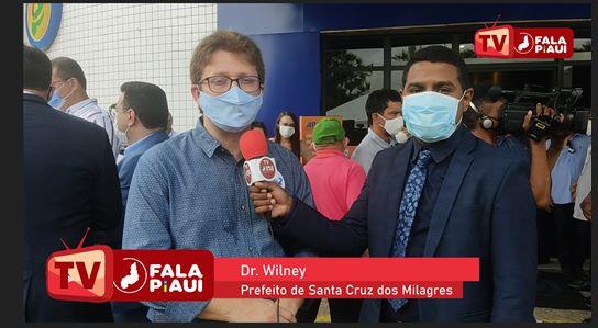 Prefeito de Santa Cruz dos Milagres, Dr. Wilney fala sobre ações para os próximos anos de mandato